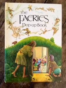 "Front cover of ""The Faeries pop-up book"