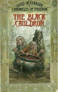 "Front cover of ""The Black Cauldron"""